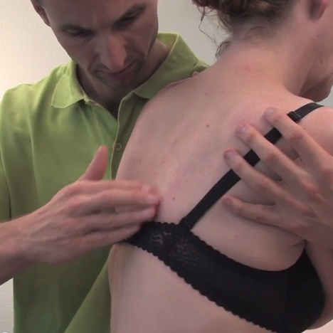 Osteopathie bij volwassenen, voorbeeld van een behandeling